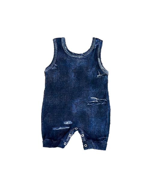 Macacão Jeans Fake