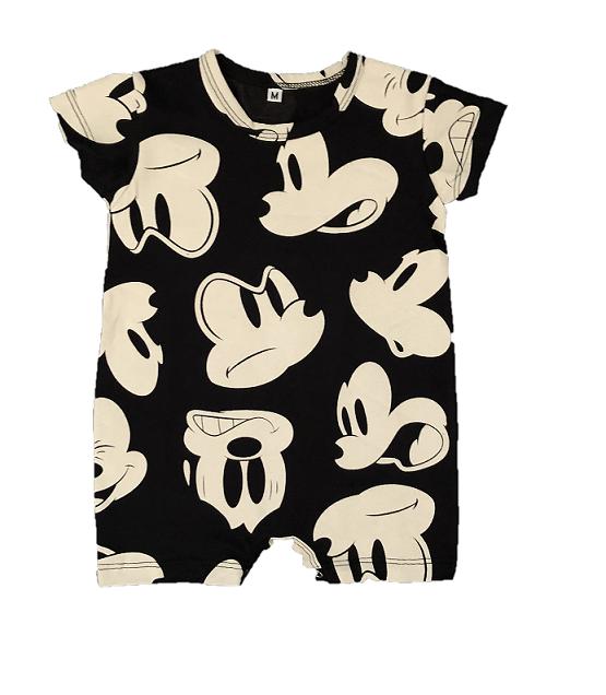 Macacão Mickey - Preto