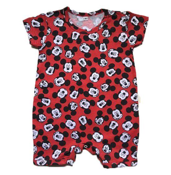 Macacão Mickey - Vermelho