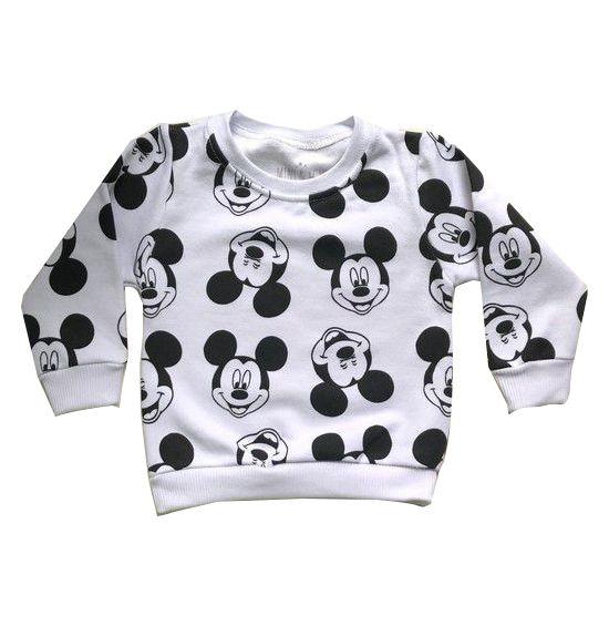 Moletom Mickey - Branco