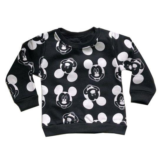 Moletom Mickey - Preto