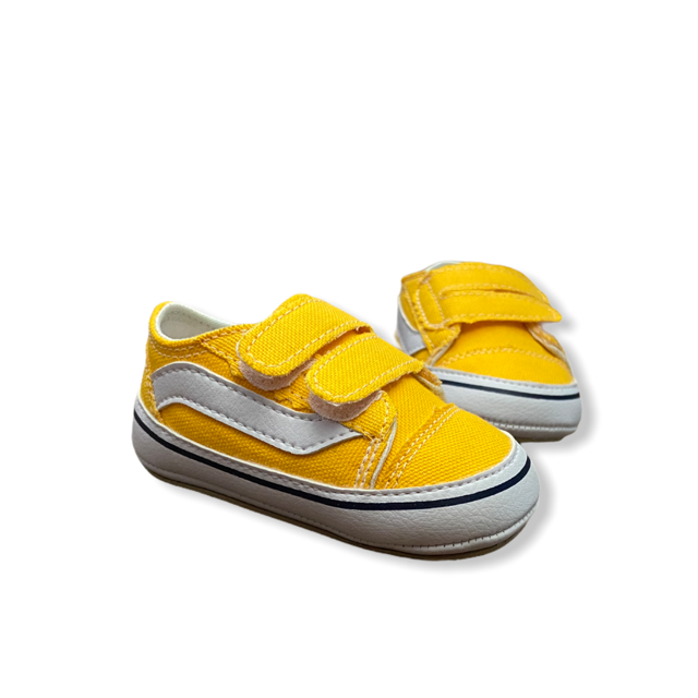 Tênis Amarelo - Velcro