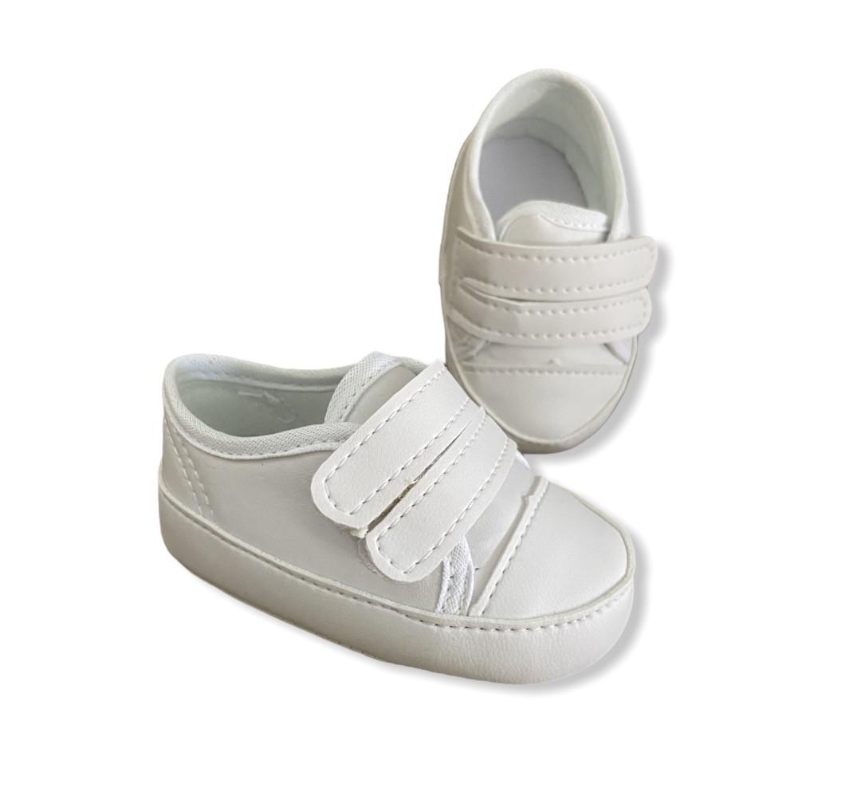 Tenis Baby Branco - Velcro