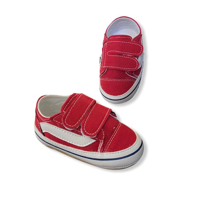 Tênis Vermelho - Velcro
