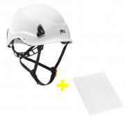 Capacete Alveo Best + Adesivos Transparentes para Personalização Petzl