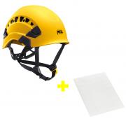 Capacete Vertex Vent + Adesivos Transparentes para Personalização Petzl