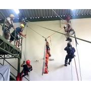 Curso Resgate Vertical de Alto Nível (20 a 23/04/21) + Curso Inspeção de EPIs (05 a 07/05/21)