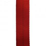 Fita Tubular Poliamida 22KN 25mm Vermelha Spelaion - 1 Metro