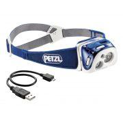 Reactik - Lanterna de Cabeça Recarregável REACTIVE LIGHTING 220 Lumens Petzl