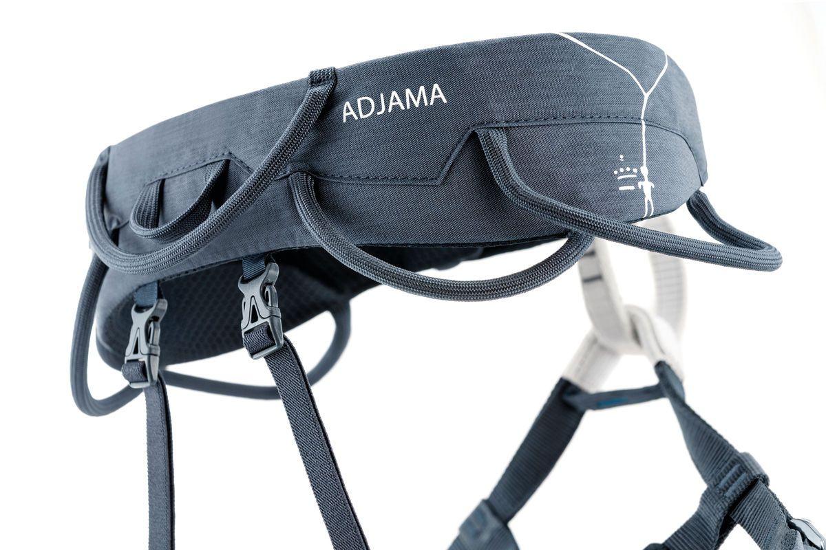Adjama - Cadeirinha de Escalada com Perneiras Reguláveis Petzl