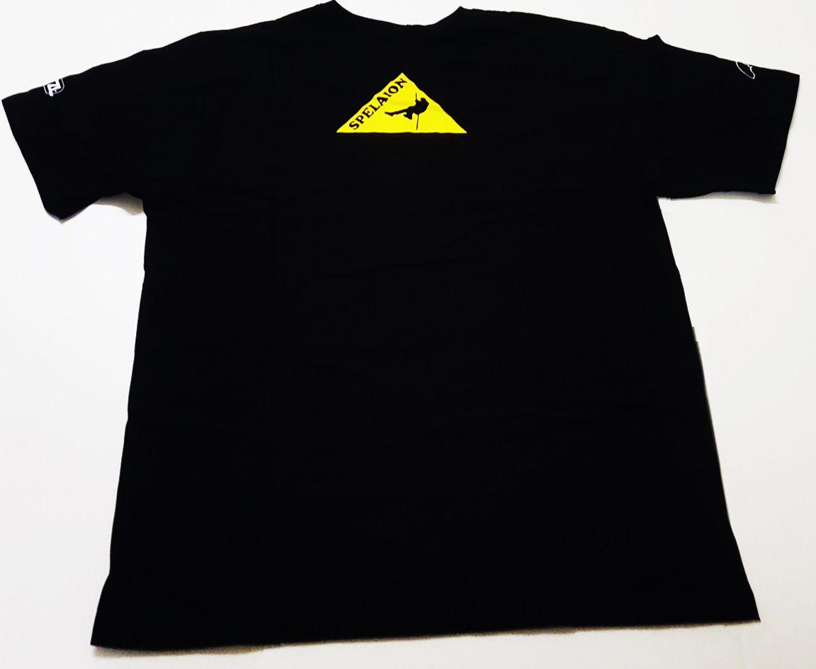 Camiseta Canyoning Cor Preta
