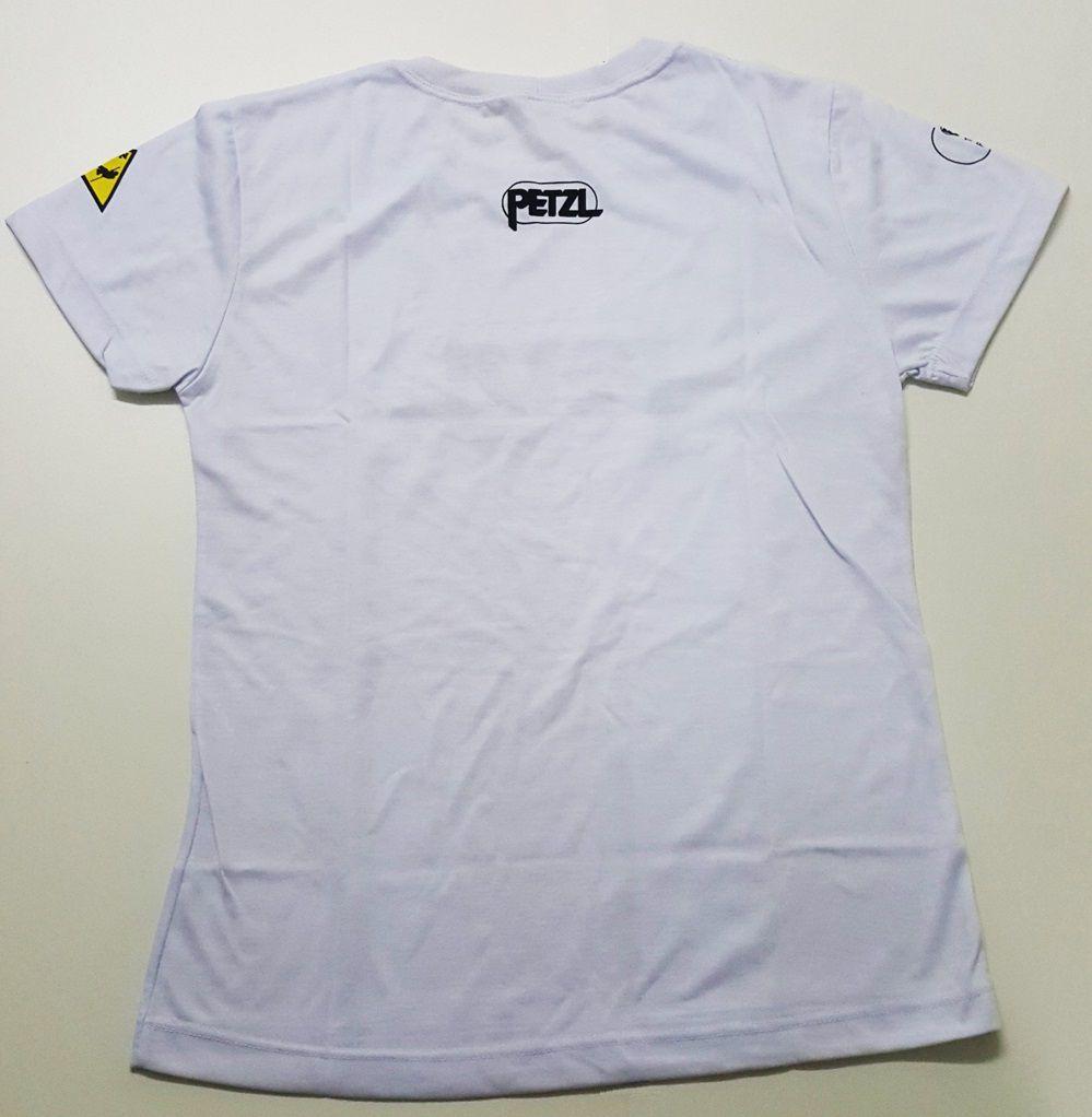 Camiseta Petzl Cor Branca