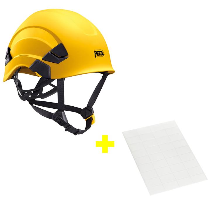 Capacete Vertex + Adesivos Transparentes para Personalização Petzl