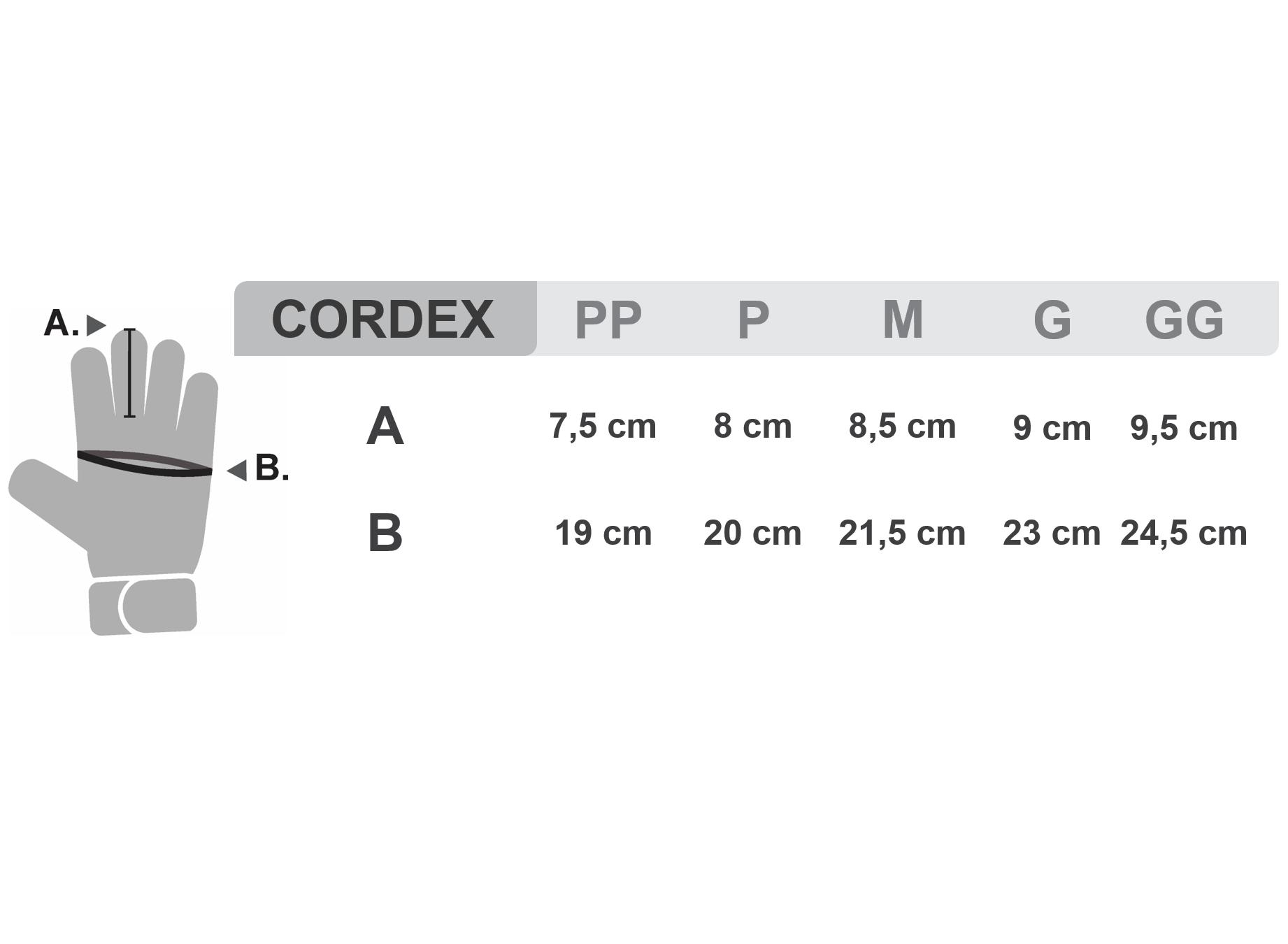 Cordex - Luvas para Rapel Petzl