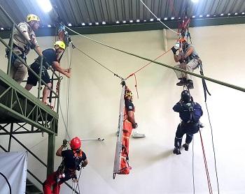 Curso Resgate Vertical de Alto Nível (12 a 15/04/21) + Curso Inspeção de EPIs (05 a 07/05/21)