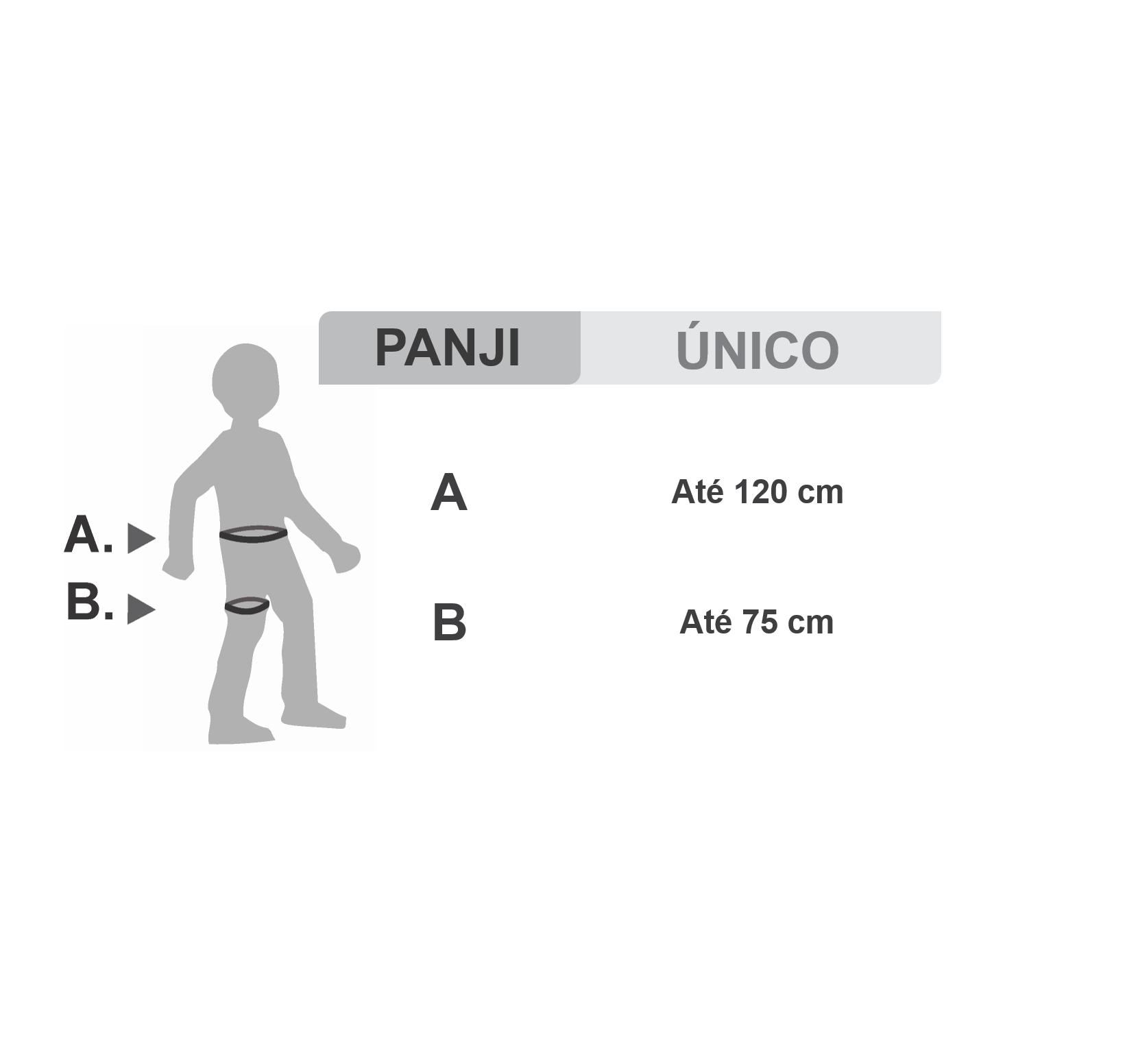 Panji - Cadeirinha para Tirolesa e Escalada Petzl