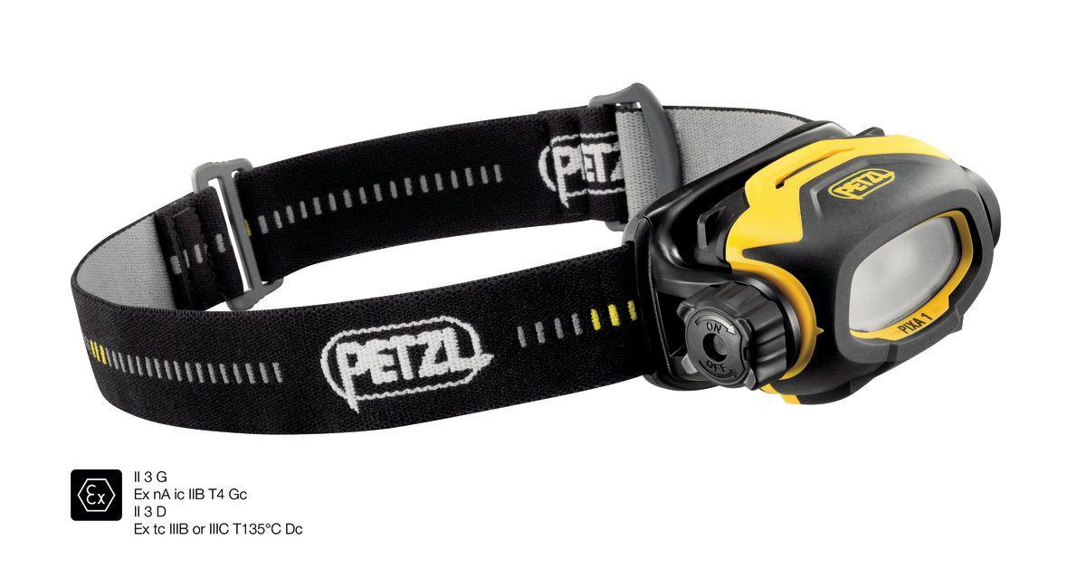Pixa 1 - Lanterna de Cabeça Antiexplosiva 60 lumens Petzl