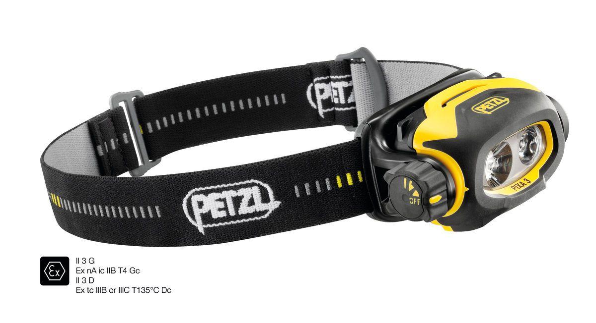 Pixa 3 - Lanterna de Cabeça Antiexplosiva 100 lumens Petzl