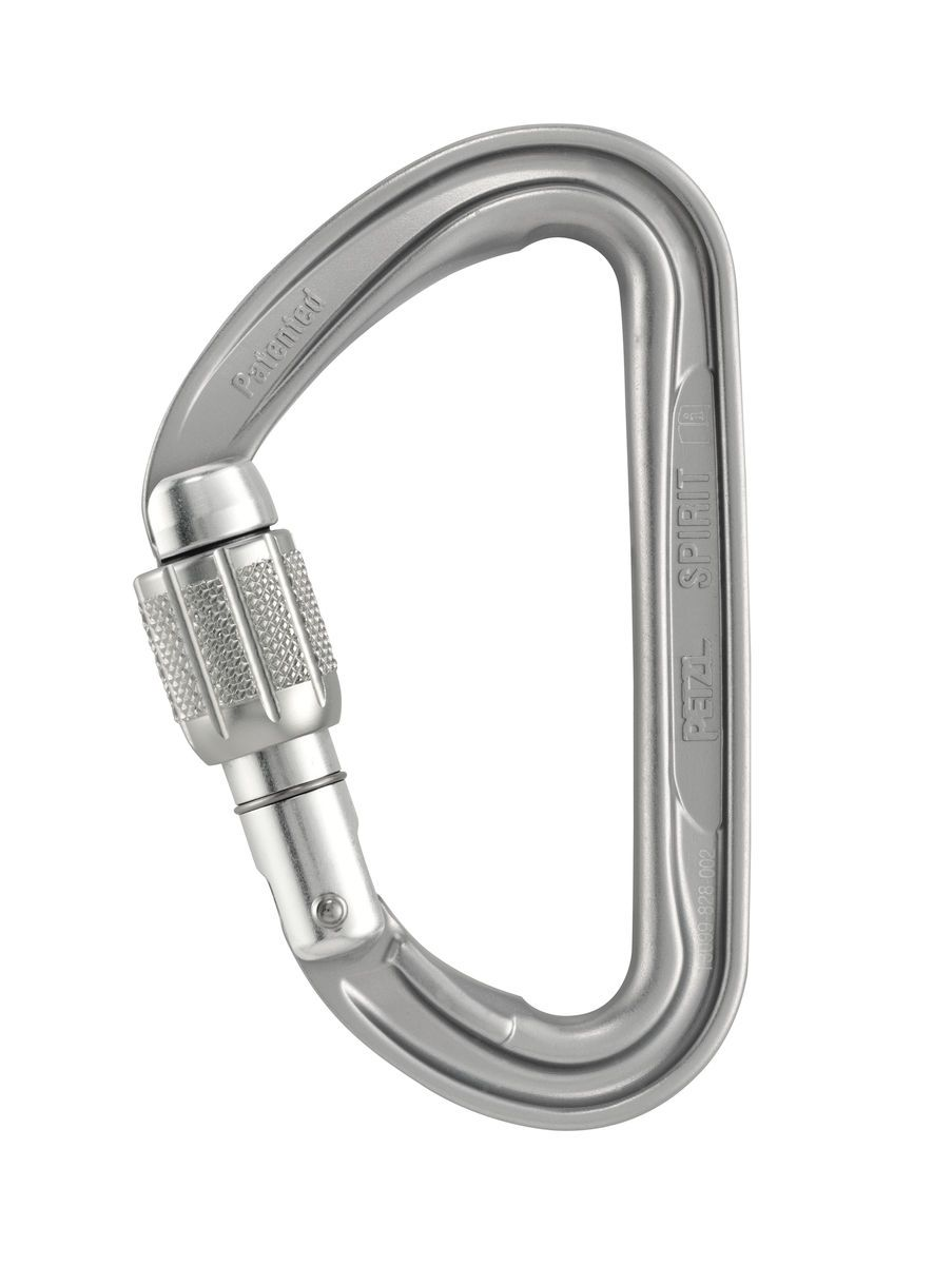 Spirit Screw Lock - Mosquetão Com Rosca Petzl