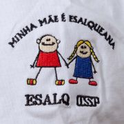 Camiseta INFANTIL minha mãe esalqueana