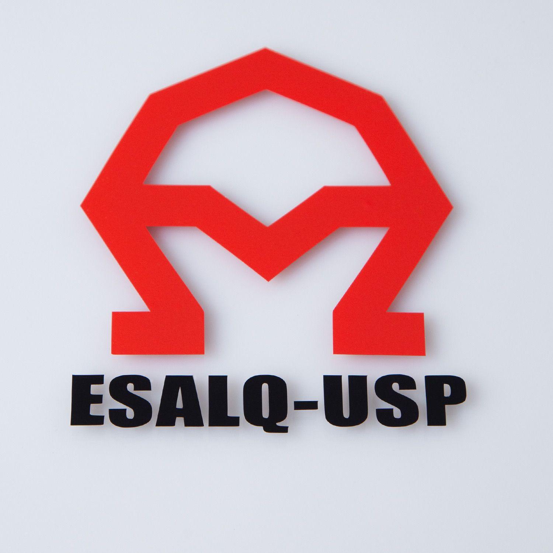 Adesivo A ESALQ USP em Preto