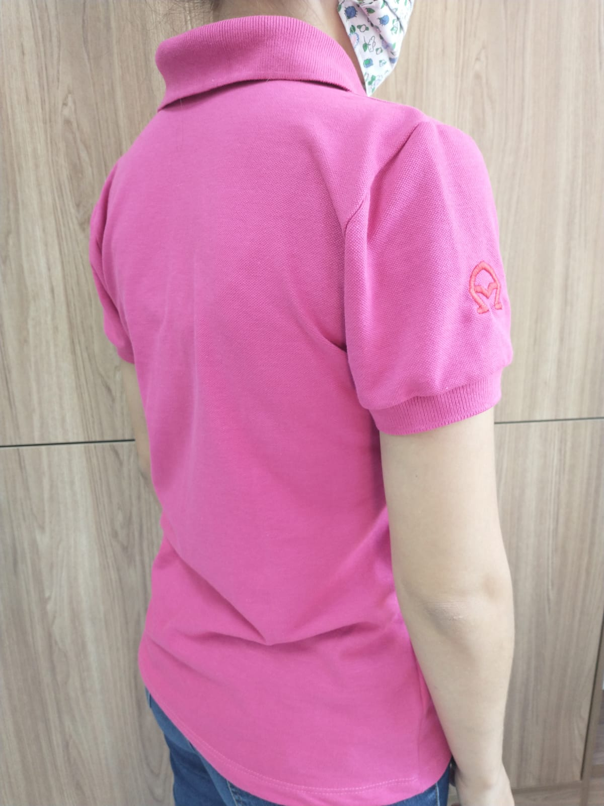 Baby look polo Pink ESALQ