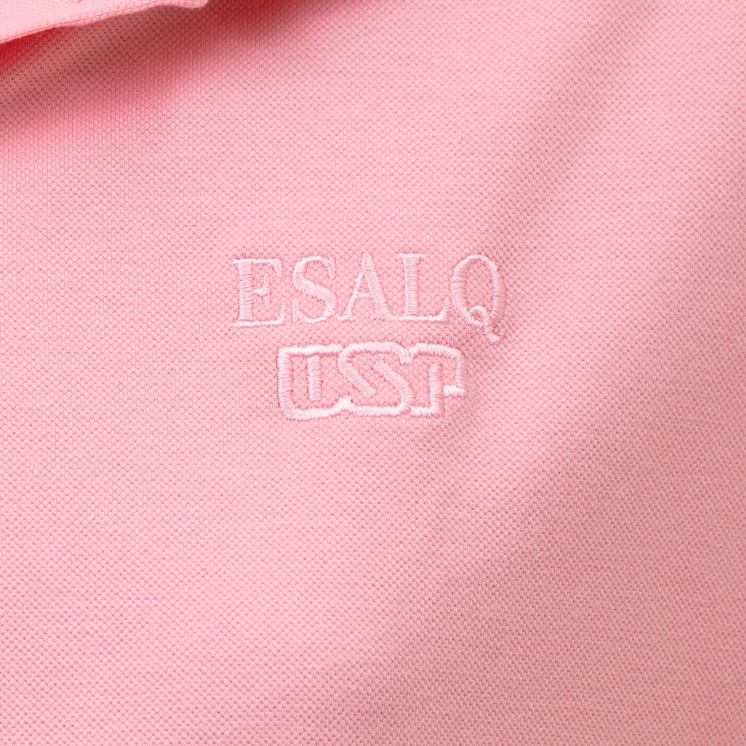 baby look polo rosa ESALQ