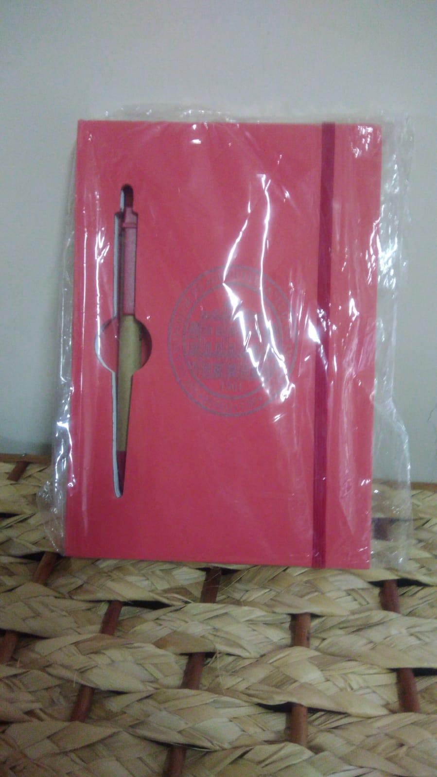 Caderno bloco de notas cores variadas