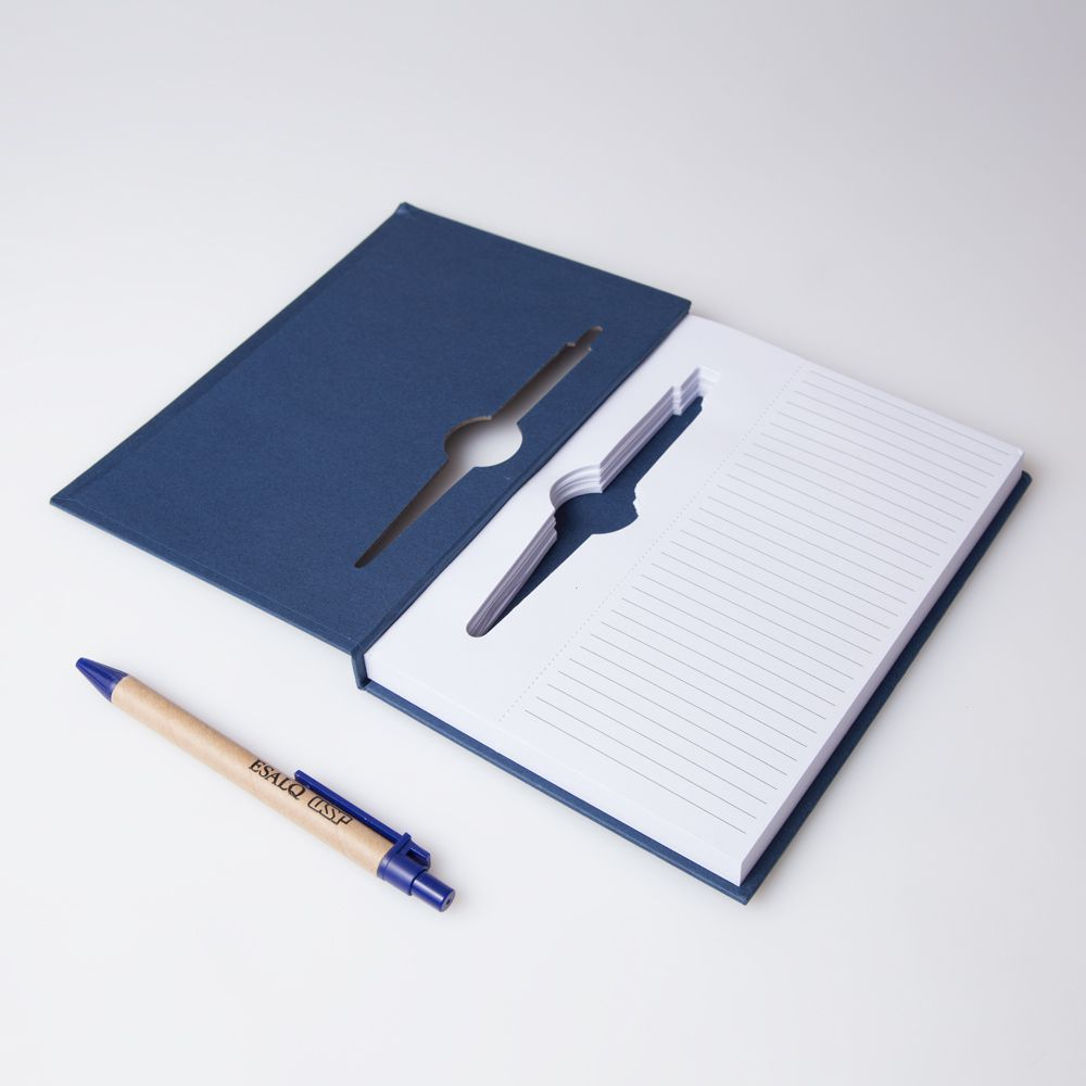 bloco de anotações Deusa Ceres Azul