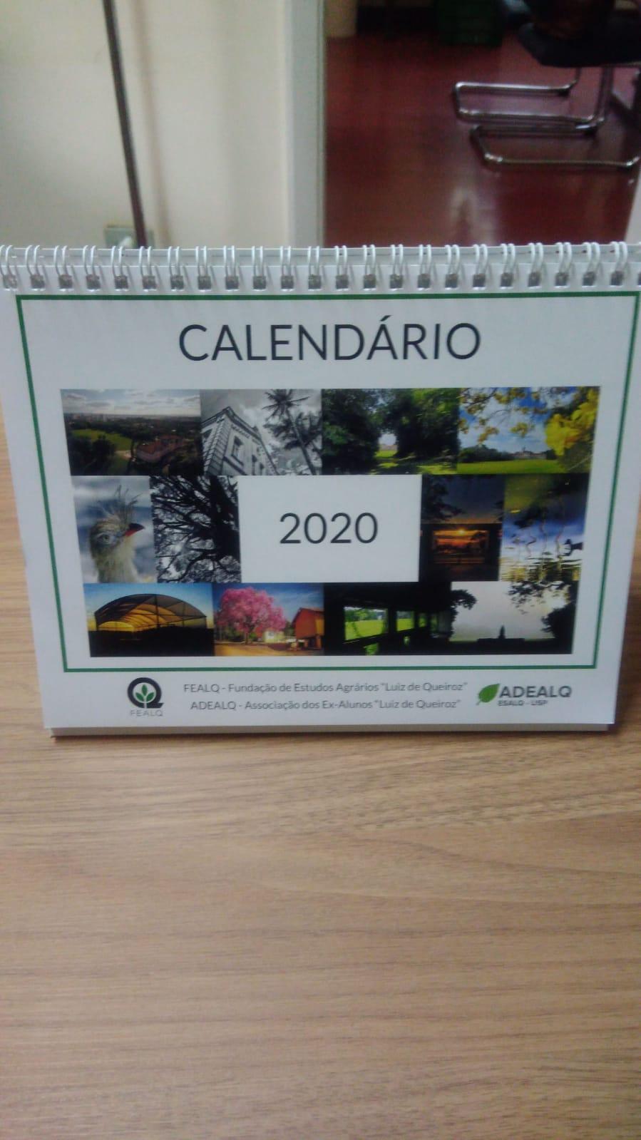 Calendário 2020 adealq