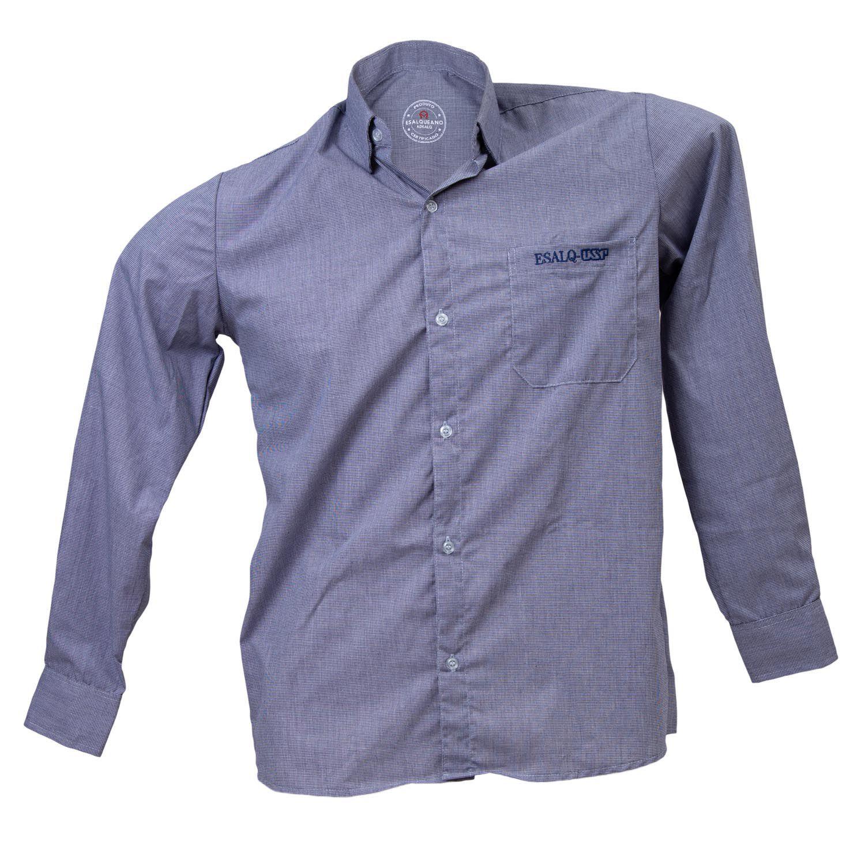 Camisa social masculina ESALQ