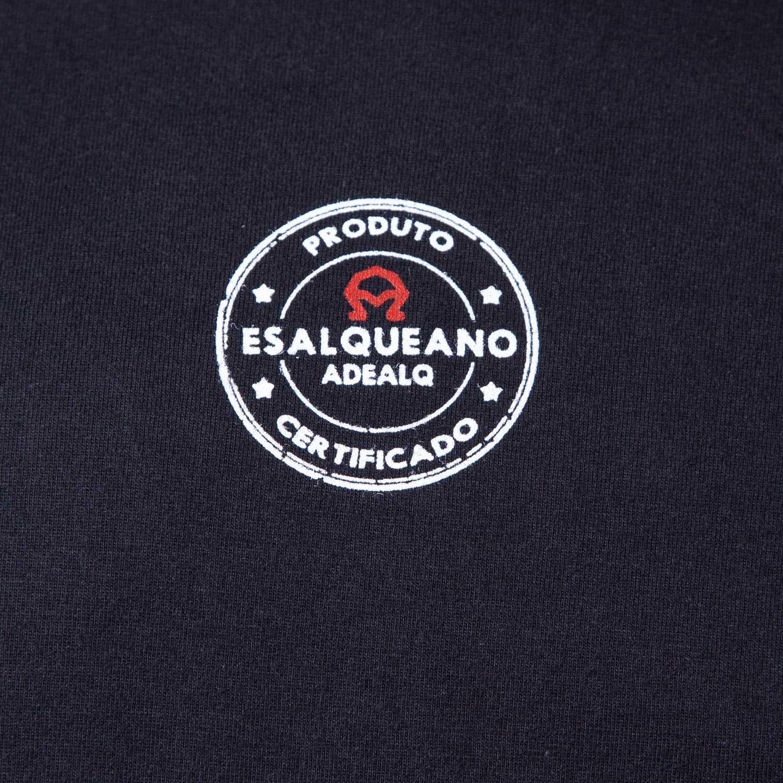 Camiseta Masculina preta Prédio Central