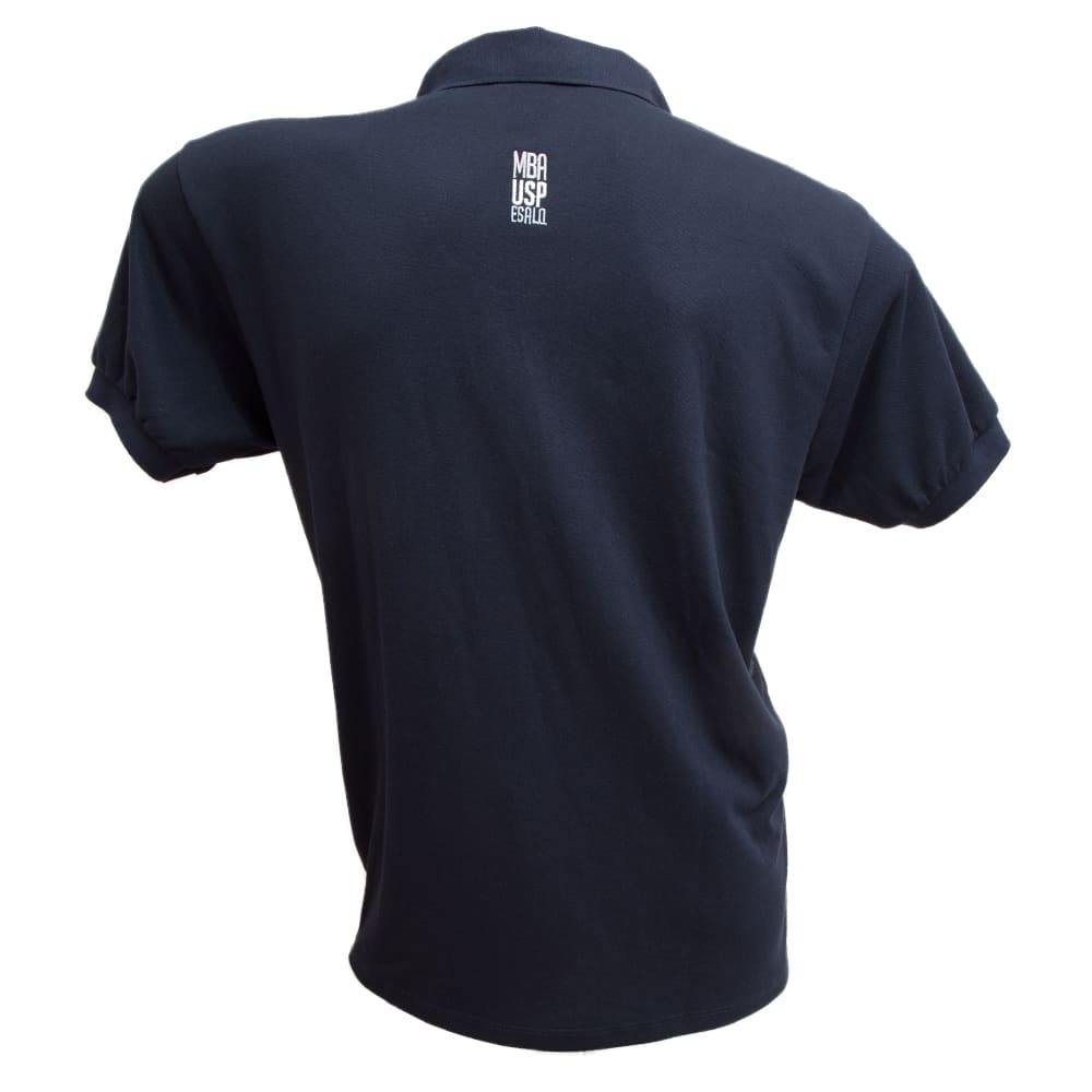 Camiseta Polo Azul Marinho MBA ESALQ USP