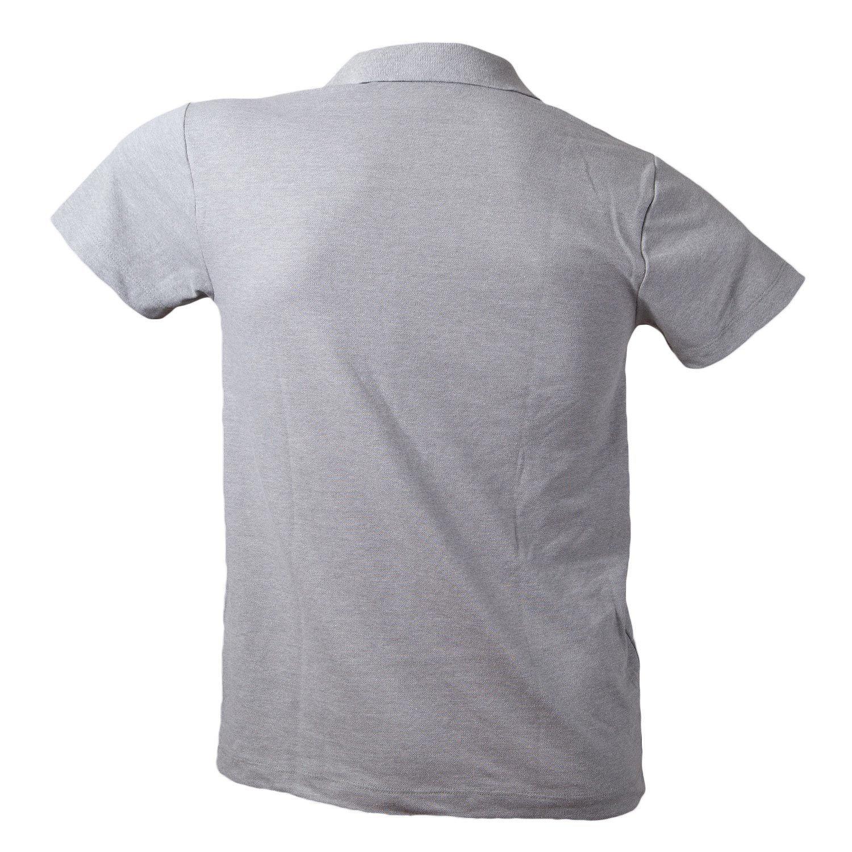 Camiseta Polo Masculina Mescla Claro