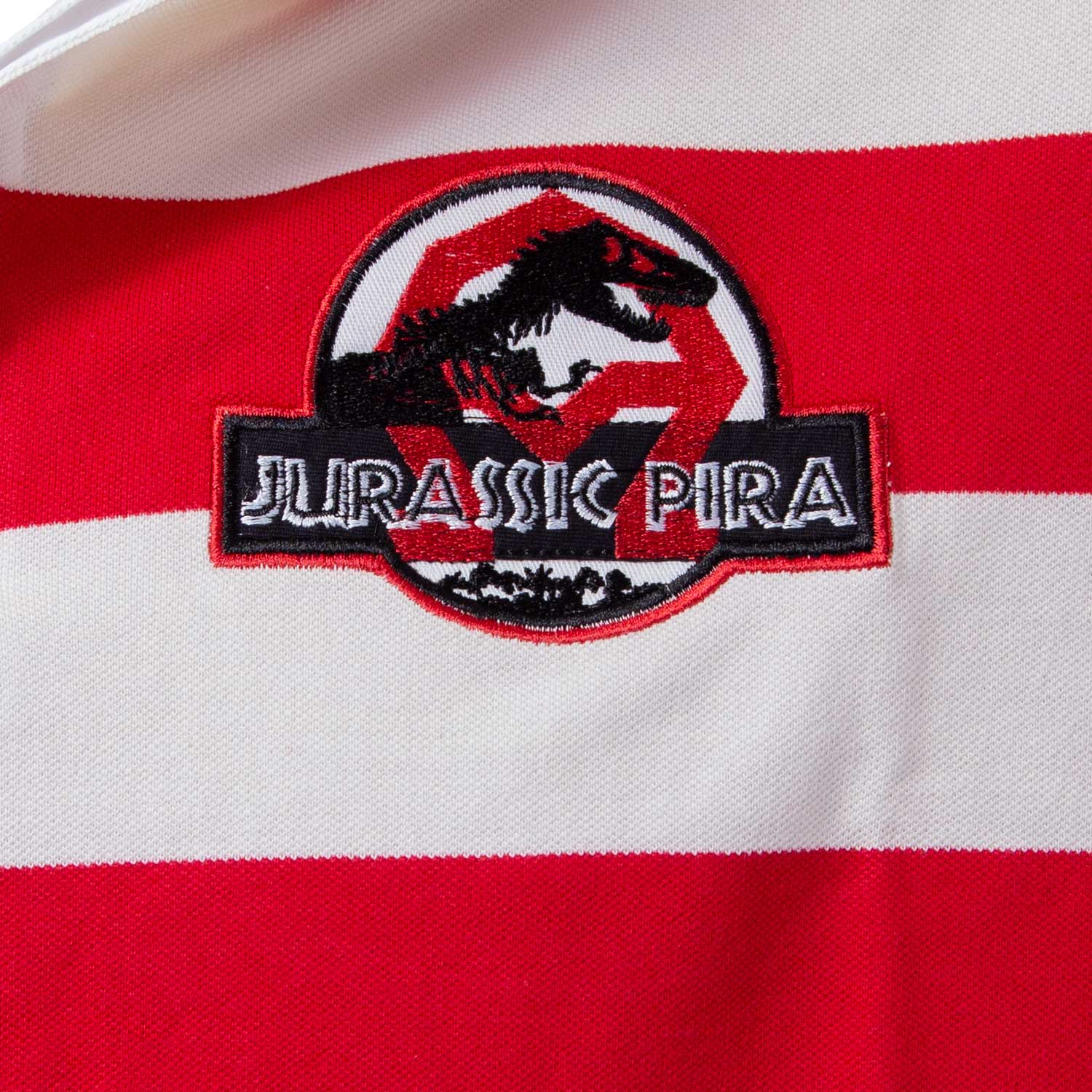 Camisa polo Jurassic pira rugby