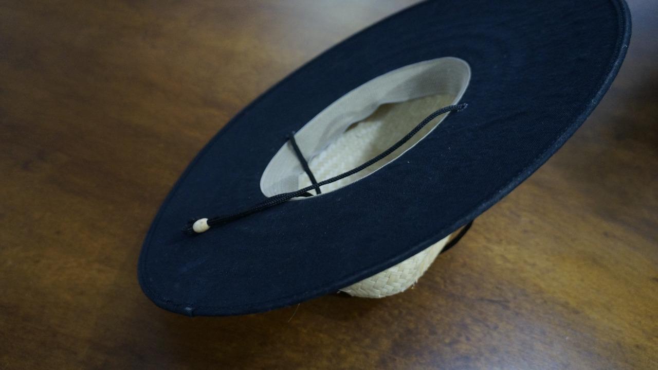 Chapéu de palha novo logo ESALQ