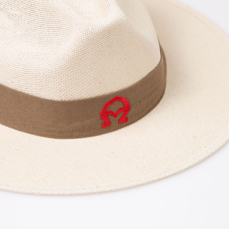 Chapéu Panamá A encarnado