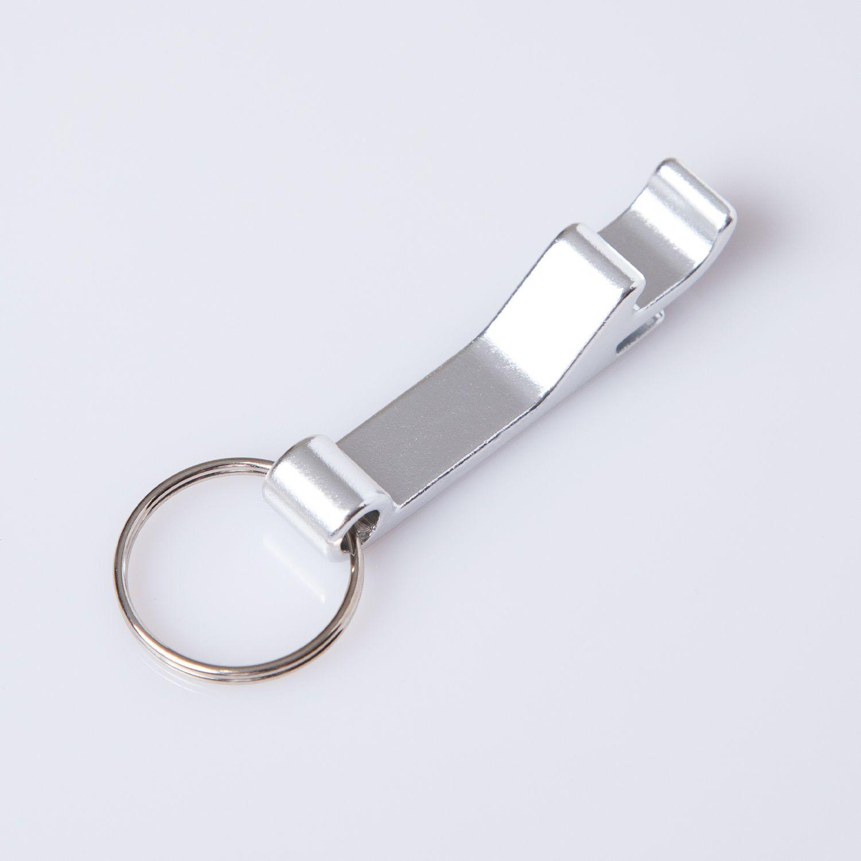Chaveiro abridor pequeno prata ESALQ USP