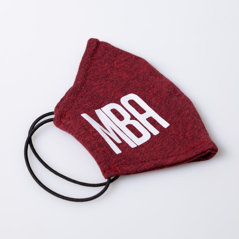 Máscara de tecido mescla vermelho MBA
