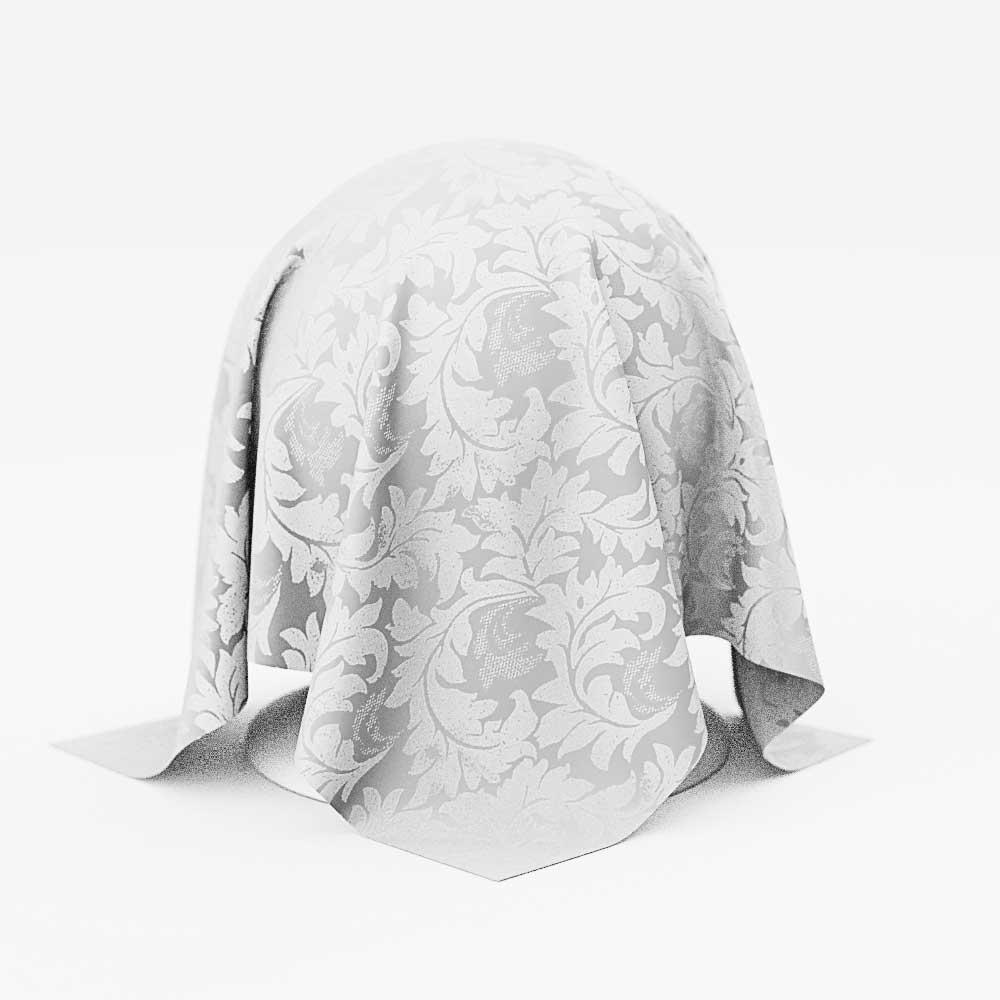 Guardanapos de Tecido Branco para FestasJacquardKit com 20 Unidades