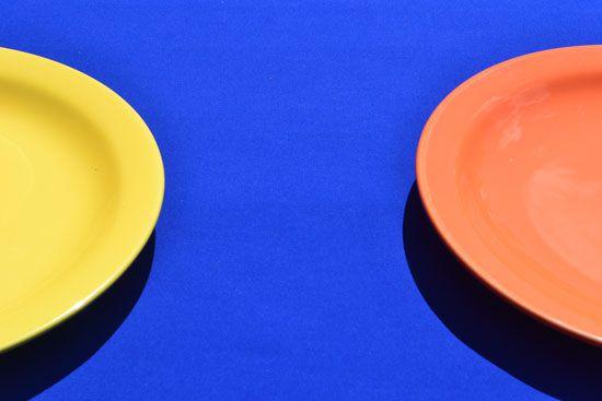 Toalha de Mesa Retangular Azul 6 Lugares Lisa Cor Azulão