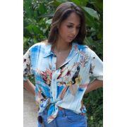 Camisa Feminina Viscose Floral Tucanos