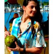 Camisa Viscose Floral Tucanos