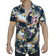 Camisa Floral Masculina Rembrandt