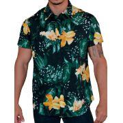 Camisa Florida Flores do Brasil