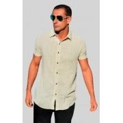 Camisa Trend Creme - Manga Curta