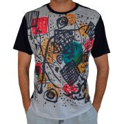 Camiseta Kandinsky - Kleine Welten V - Preta