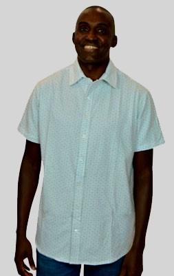 Camisa Malha Off White Capri Manga Curta