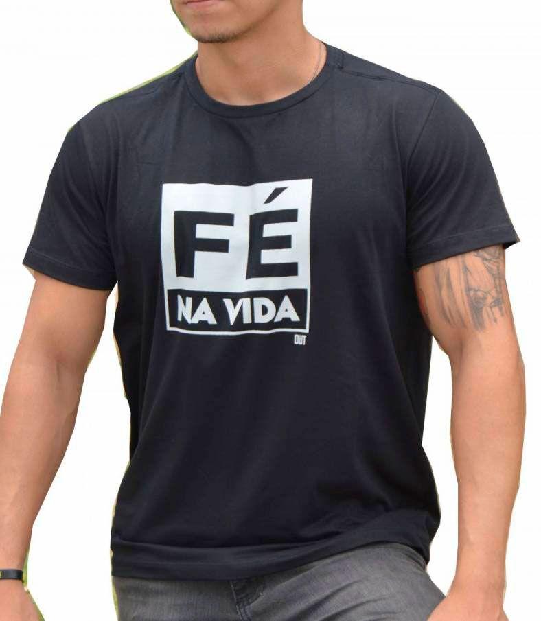 Camiseta Fé na Vida