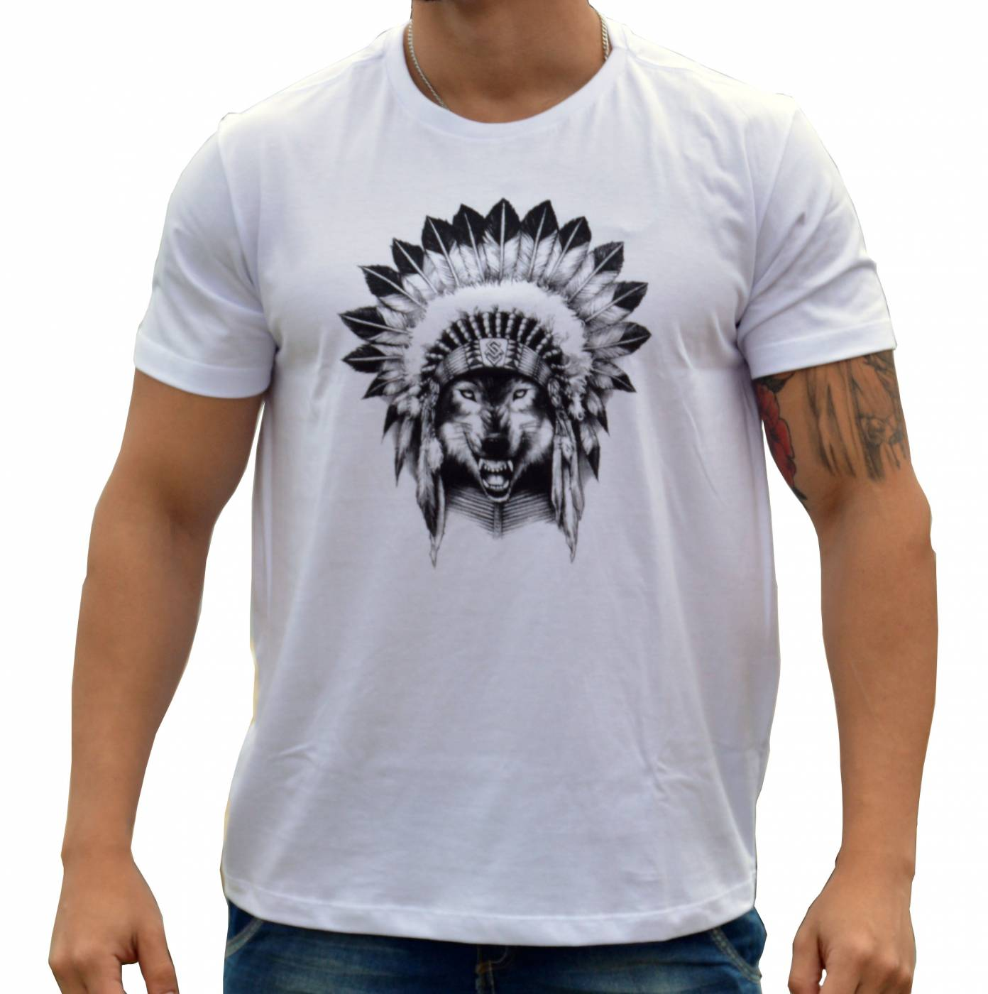 Camiseta Lobo Apache